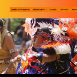 Graphic for Narragansett Indian Tribe website homepage.