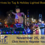 Digital image for the GMCC's Santa Arrives by Tugboat and Holiday Lighted Boat Parade.