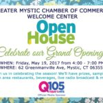 GMCC Welcome Center Open House graphic